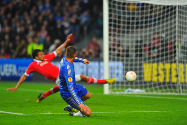 Torres abrió el marcador en la final de la Europa League en 2013 / Foto: Focus Images Ltd