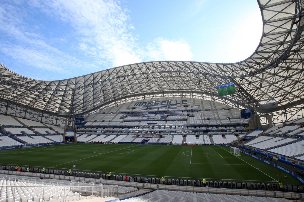 General views of the stadium before the UEFA Euro 2016 match at Stade Velodrome, Marseille Picture by Paul Chesterton/Focus Images Ltd +44 7904 640267 11/06/2016