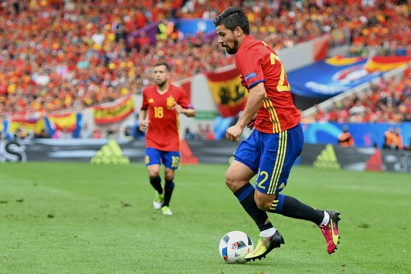 Nolito of Spain during the UEFA Euro 2016 match at Stadium de Toulouse, Toulouse Picture by Kristian Kane/Focus Images Ltd 07814482222 13/06/2016