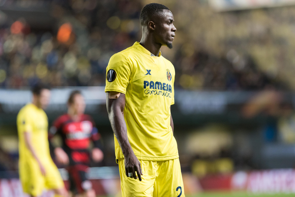 Eric Bailly of Villarreal CF during the UEFA Europa League match at Estadio El Madrigal, Villarreal Picture by Maria Jose Segovia/Focus Images Ltd +34 660052291 10/03/2016
