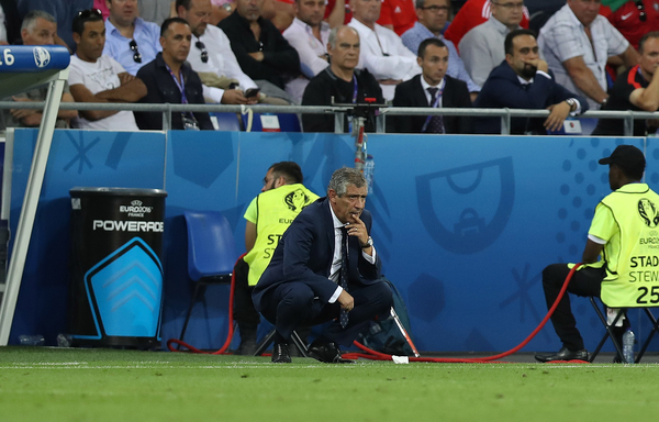 Portugal Manager Fernando Santos during the UEFA Euro 2016 semi-final match at Stade de Lyons, Lyons Picture by Paul Chesterton/Focus Images Ltd +44 7904 640267 06/07/2016