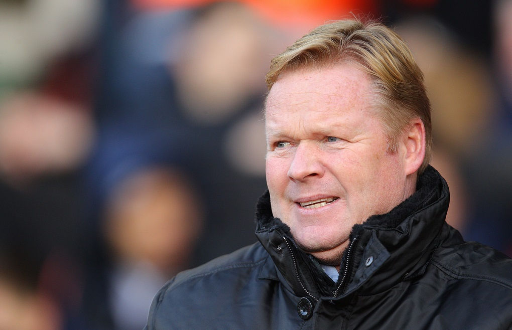 Ronald Koeman, Manager of Southampton during the Barclays Premier League match at the St Mary's Stadium, Southampton Picture by Paul Terry/Focus Images Ltd +44 7545 642257 20/12/2014