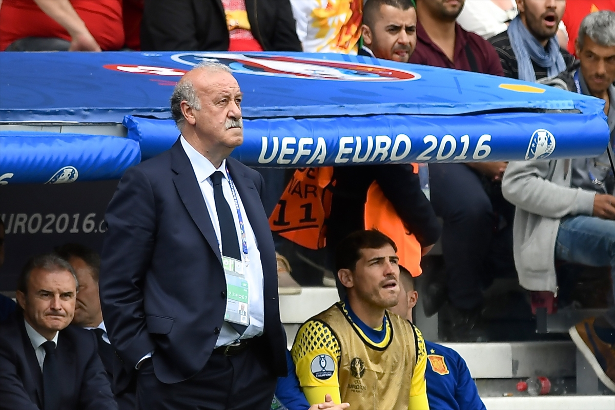 Spain manager Vicente del Bosque during the UEFA Euro 2016 match at Stadium de Toulouse, Toulouse Picture by Kristian Kane/Focus Images Ltd 07814482222 13/06/2016