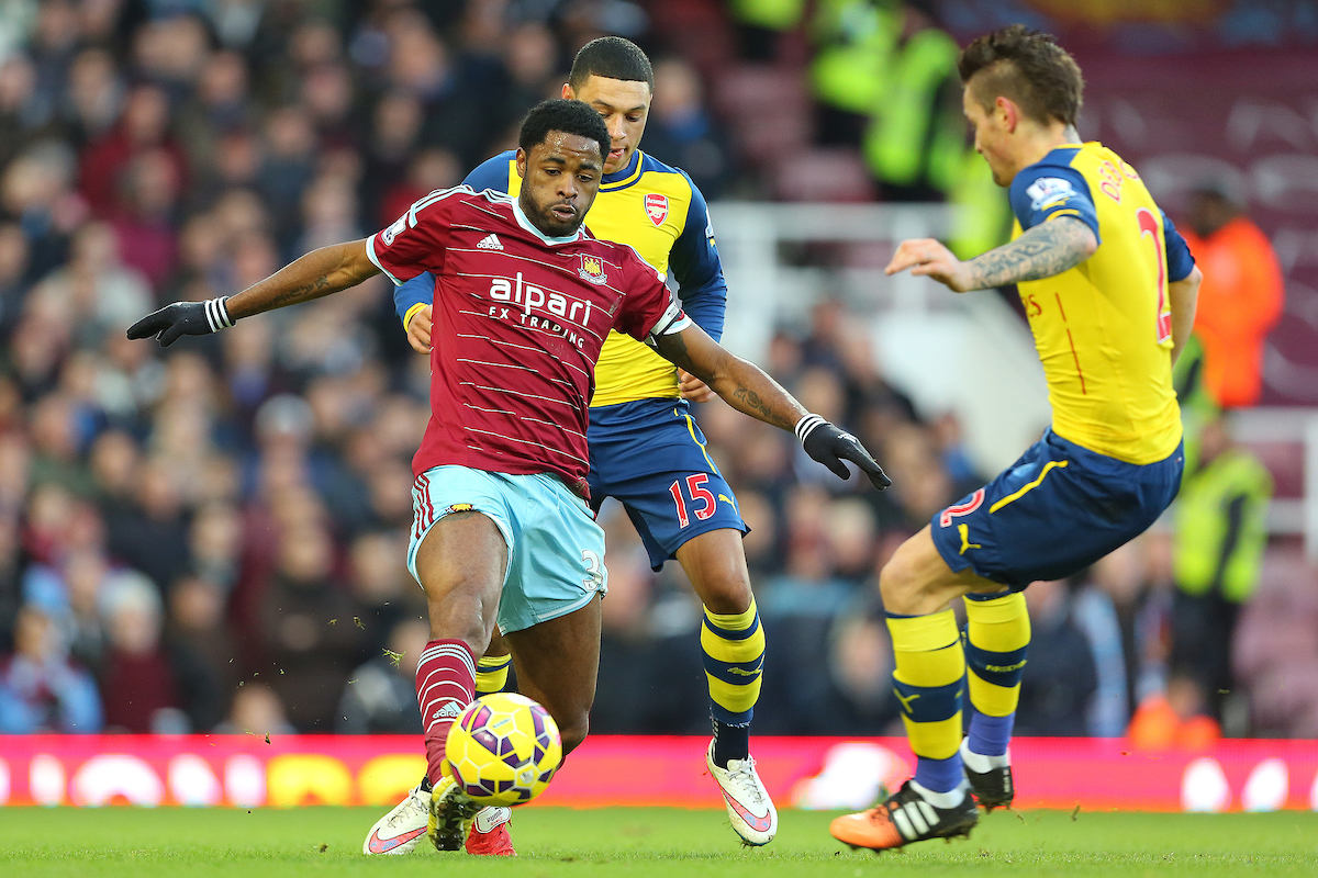Alex Song West Ham Focus