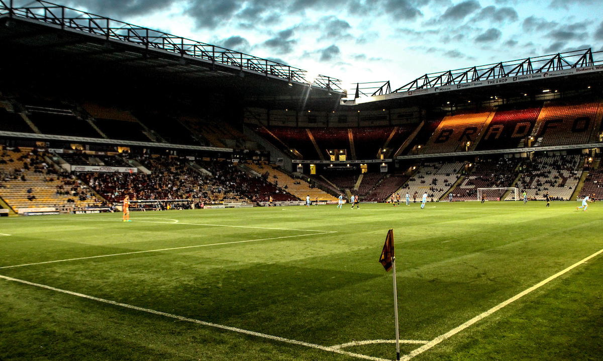 General Stadium view during Bradford City vs of Stoke City U23 during the Checkatrade Trophy match at the Coral Windows Stadium, Bradford Picture by Stephen Gaunt/Focus Images Ltd +447904 833202 30/08/2016