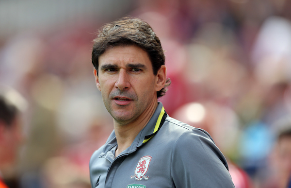 Middlesbrough head coach Aitor Karanka prior to the pre-season match at the Riverside Stadium, Middlesbrough Picture by Simon Moore/Focus Images Ltd 07807 671782 06/08/2016