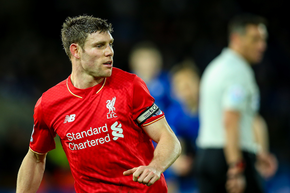 James Milner Liverpool Focus
