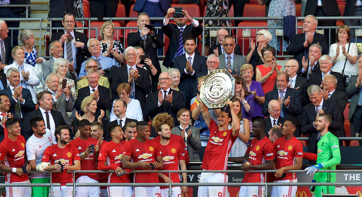 Manchester United Ibrahimovic Community Shield Focus
