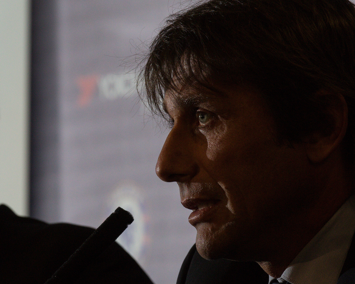 Chelsea unveil Antonio Conte as their new manager at Stamford Bridge, London Picture by Mark Chappell/Focus Images Ltd +44 77927 63340 14/07/2016