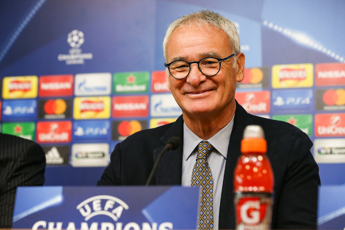Leicester City manager Claudio Ranieri during the Leicester City press conference at the King Power Stadium, Leicester Picture by Andy Kearns/Focus Images Ltd 0781 864 4264 26/09/2016