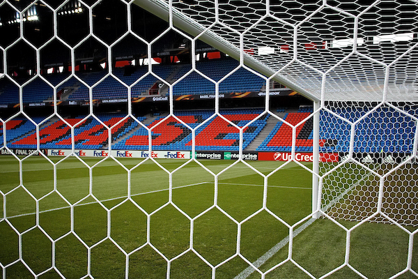 General view of the stadium pictured ahead of the UEFA Europa League Final at St. Jakob-Park, Basel Picture by Kristian Kane/Focus Images Ltd 07814482222 18/05/2016