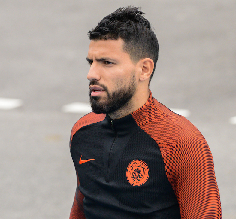 Man City Agüero - Focus