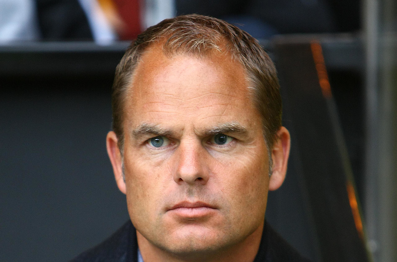 Picture by Paul Chesterton/Focus Images Ltd +44 7904 640267.31/07/2012.Ajax Manager Frank De Boer before the Friendly match at Carrow Road, Norwich.