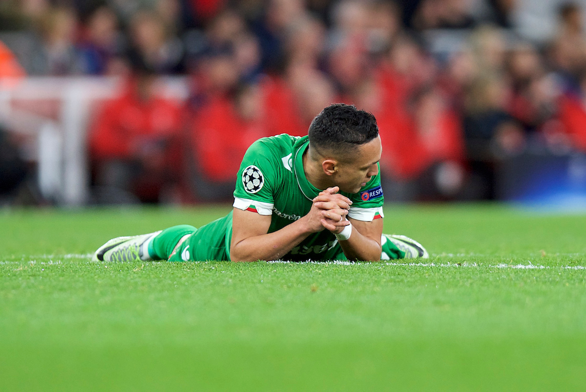 Wanderson of Ludogorets Razgrad during the UEFA Champions League match at the Emirates Stadium, London Picture by Alan Stanford/Focus Images Ltd +44 7915 056117 19/10/2016