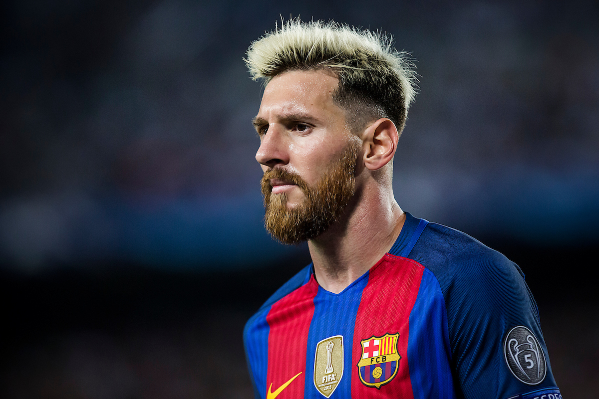 Messi of FC Barcelona during the UEFA Champions League match against Celtic at Camp Nou, Barcelona Picture by Luis Tato/Focus Images Ltd (+34) 661 459 33 13/09/2016