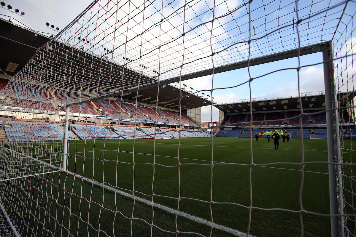 Interior view of the stadium prior to the Premier League match at Turf Moor, Burnley Picture by Christopher Booth/Focus Images Ltd 07711958291 26/12/2016