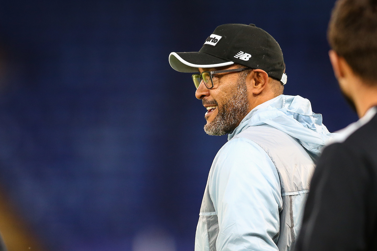 FC Porto manager Nuno Espirito Santo during the FC Porto training session at the King Power Stadium, Leicester Picture by Andy Kearns/Focus Images Ltd 0781 864 4264 26/09/2016