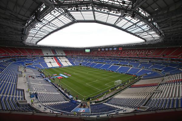 General views of the Stadium before the UEFA Euro 2016 match at Stade de Lyons, Lyons Picture by Paul Chesterton/Focus Images Ltd +44 7904 640267 19/06/2016