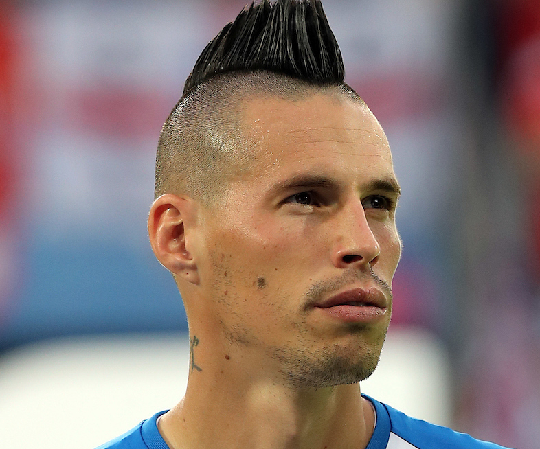 Marek Hamsik of Slovakia before the UEFA Euro 2016 match at Stade Geoffroy-Guichard, Saint-Etienne Picture by Paul Chesterton/Focus Images Ltd +44 7904 640267 13/06/2016