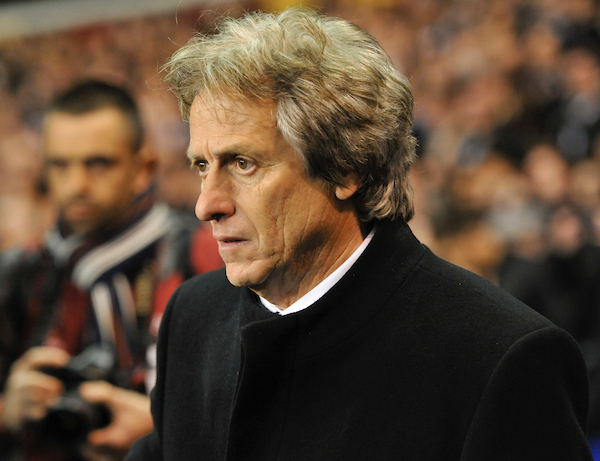 Manager Jorge Jesus of Benfica during the UEFA Europa League match at White Hart Lane, London Picture by Alan Stanford/Focus Images Ltd +44 7915 056117 13/03/2014