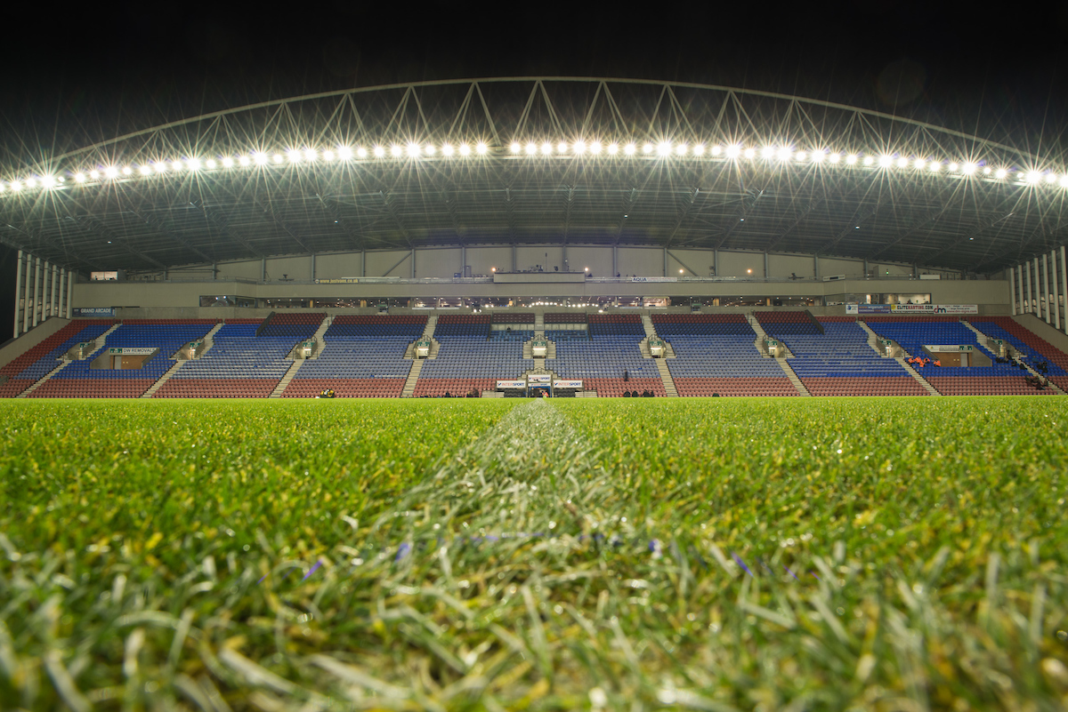 A general view of the DW Stadium, Wigan prior to the Sky Bet Championship match between Wigan Athletic and Newcastle United Picture by Matt Wilkinson/Focus Images Ltd 07814 960751 14/12/2016