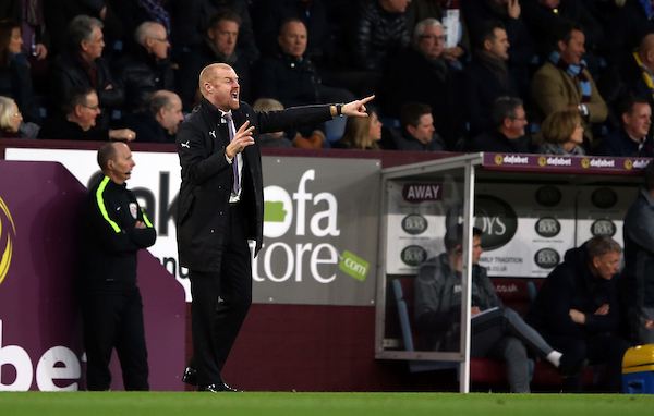 Burnley manager Sean Dyche during the Premier League match at Turf Moor, Burnley Picture by Christopher Booth/Focus Images Ltd 07711958291 31/12/2016