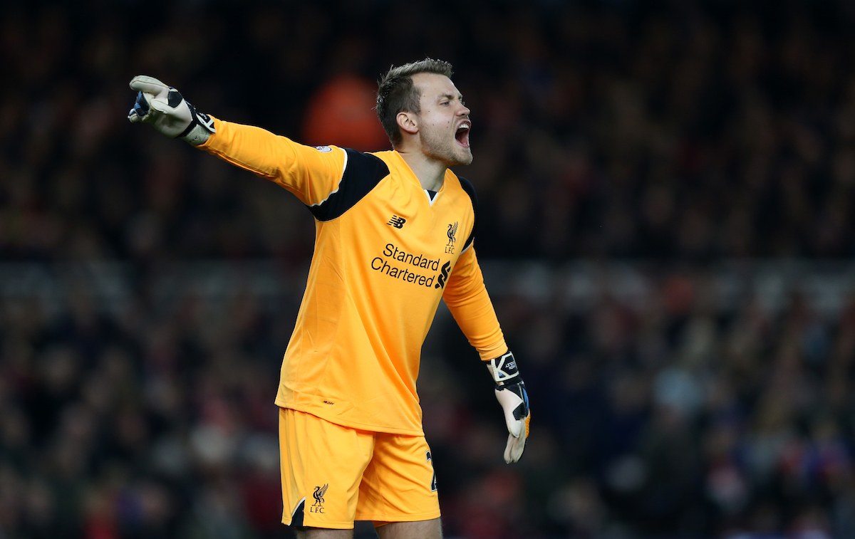 Simon Mignolet Liverpool Focus