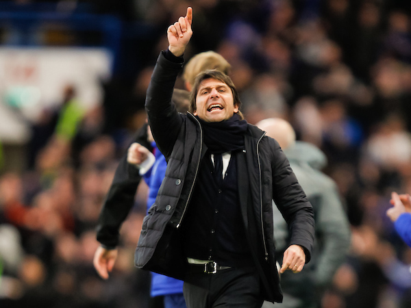Chelsea Manager Antonio Conte during the FA Cup match between Chelsea and Brentford at Stamford Bridge, London Picture by Mark D Fuller/Focus Images Ltd +44 7774 216216 28/01/2017