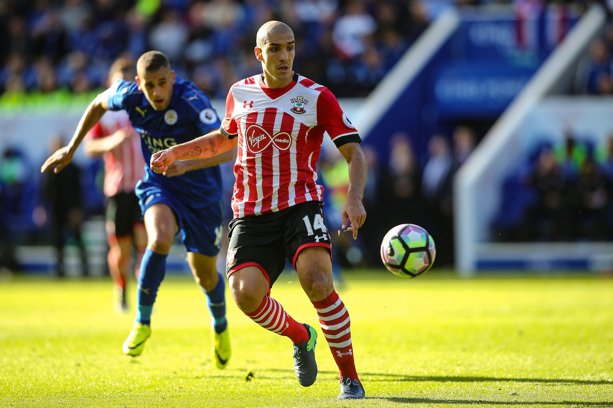 Oriol Romeu of Southampton during the Premier League match at the King Power Stadium, Leicester Picture by Andy Kearns/Focus Images Ltd 0781 864 4264 02/10/2016