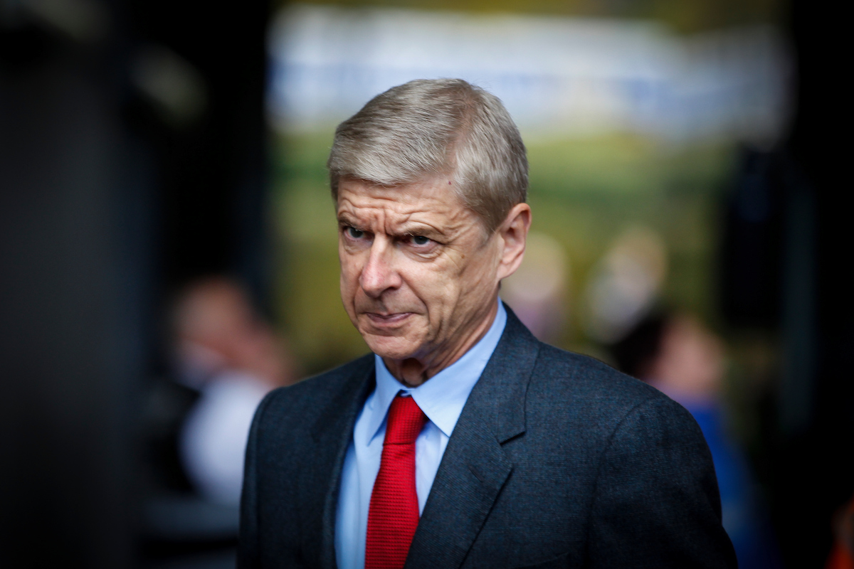 Arsene Wenger of Arsenal arriving for the Barclays Premier League match at the Liberty Stadium, Swansea Picture by Mike Griffiths/Focus Images Ltd +44 7766 223933 31/10/2015