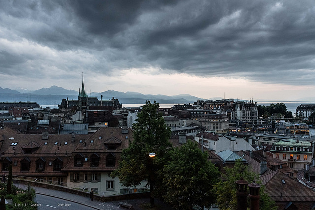 Lausanne Gustave Deghilage bajo licencia Creative COmmons 2.0