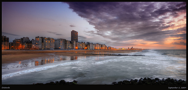 Oostende. Foto: Wolfgang Staudt, bajo licencia creative Commons 2.0.