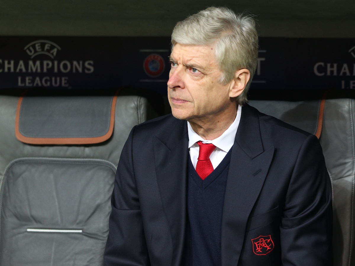 Arsenal Manager Arsene Wenger during the UEFA Champions League match at Allianz Arena, Munich Picture by Yannis Halas/Focus Images Ltd +353 8725 82019 15/02/2017