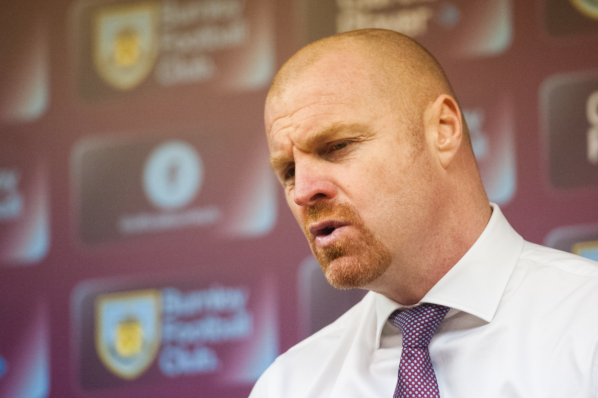 Burnley manager Sean Dyche speaks with the media following the Sky Bet Championship match at Turf Moor, Burnley Picture by Matt Wilkinson/Focus Images Ltd 07814 960751 20/02/2016