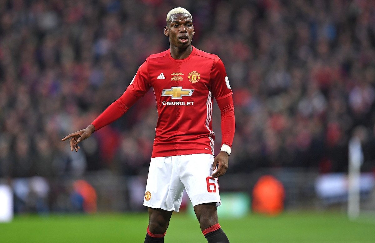La lesión muscular de Paul Pogba fue la mala noticia para el United. Foto: Focus Images Ltd.