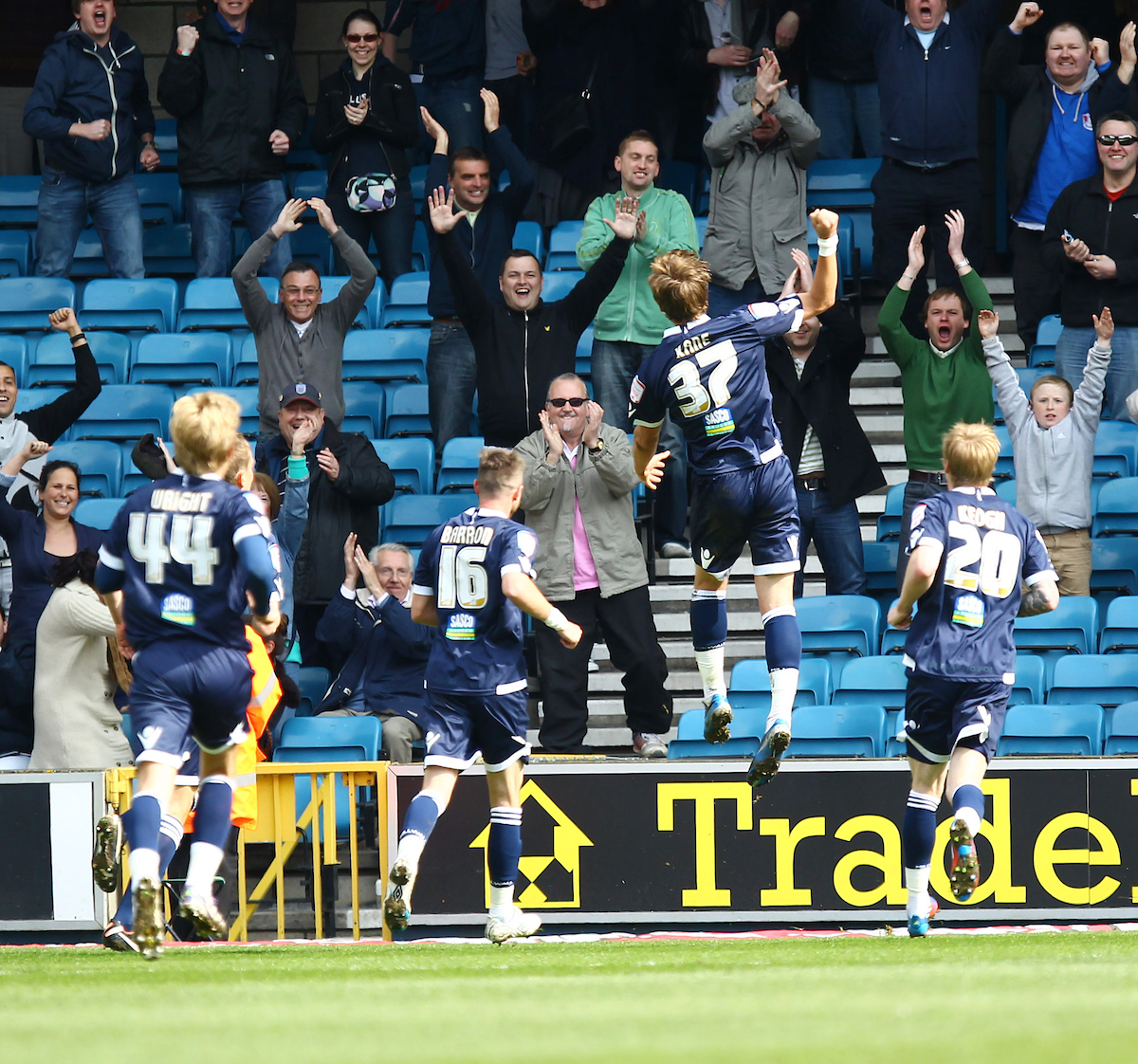 Millwall v Leicester City.Npower Championship