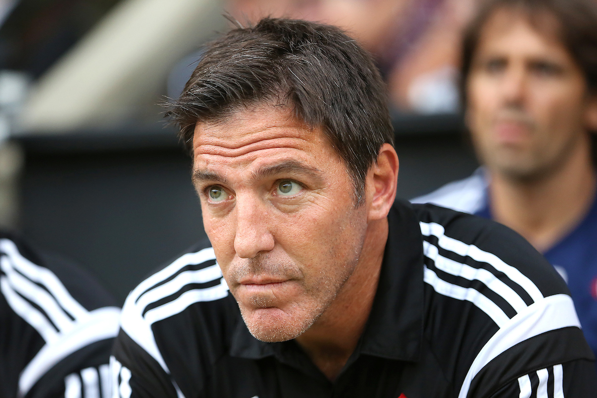 Manager of Celta Vigo, Eduardo Berizzo during the pre season friendly match against Norwich City at Carrow Road, Norwich Picture by Richard Calver/Focus Images Ltd +447792 981244 01/08/2014
