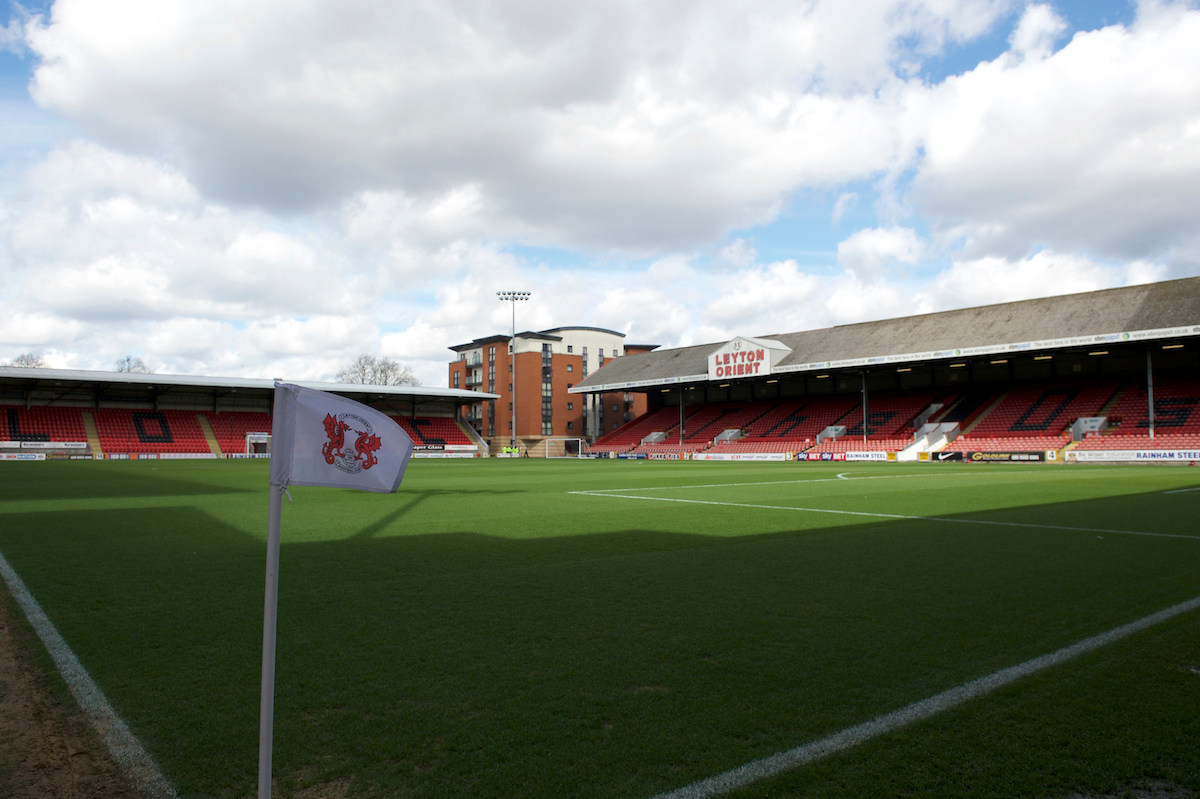 A general view of the stadium before the Sky Bet League 2 match at the Matchroom Stadium, London Picture by Alan Stanford/Focus Images Ltd +44 7915 056117 28/03/2016