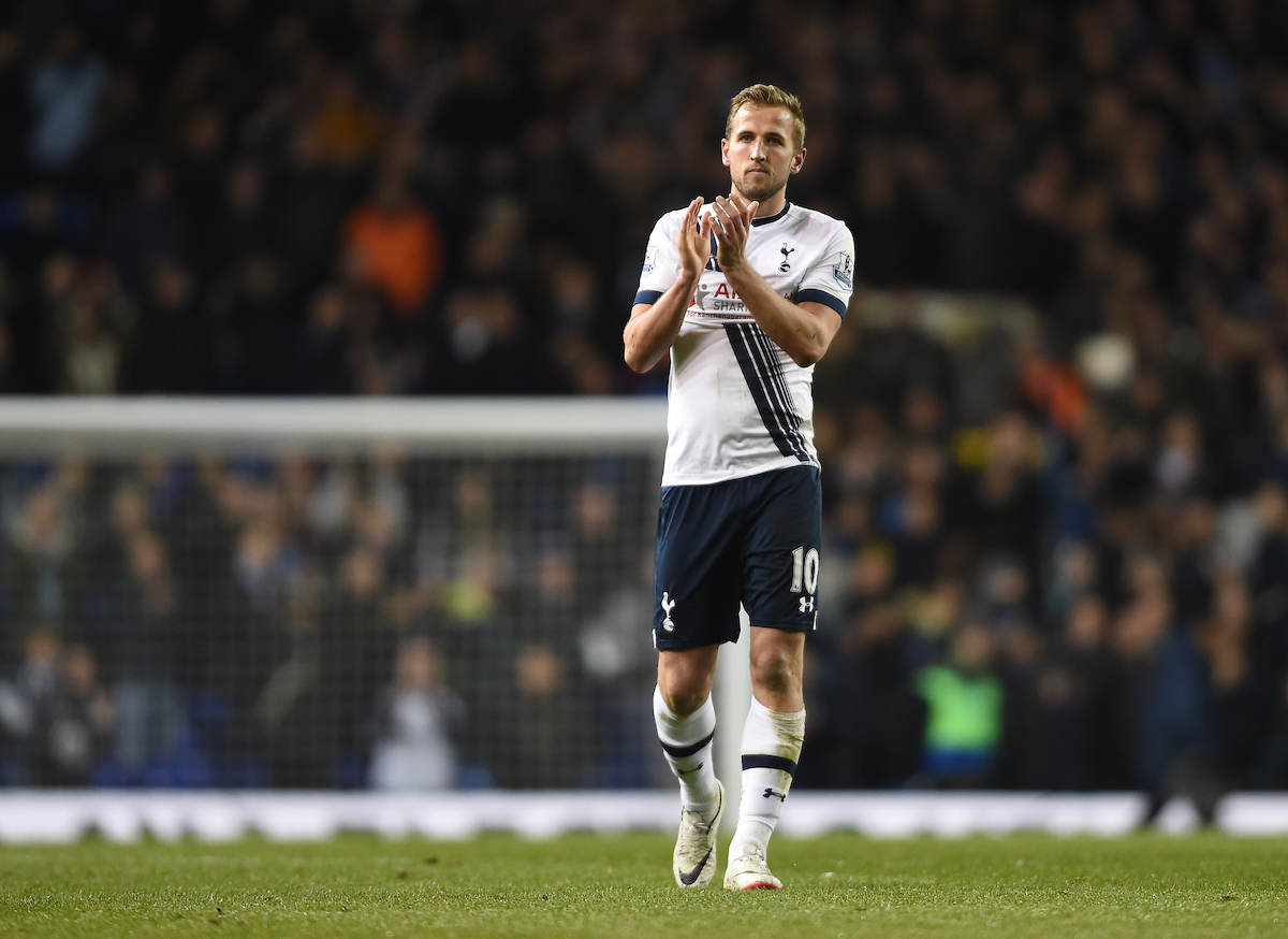 Harry Kane at full time during the Barclays Premier League match at White Hart Lane, London Picture by Daniel Hambury/Focus Images Ltd +44 7813 022858 25/04/2016