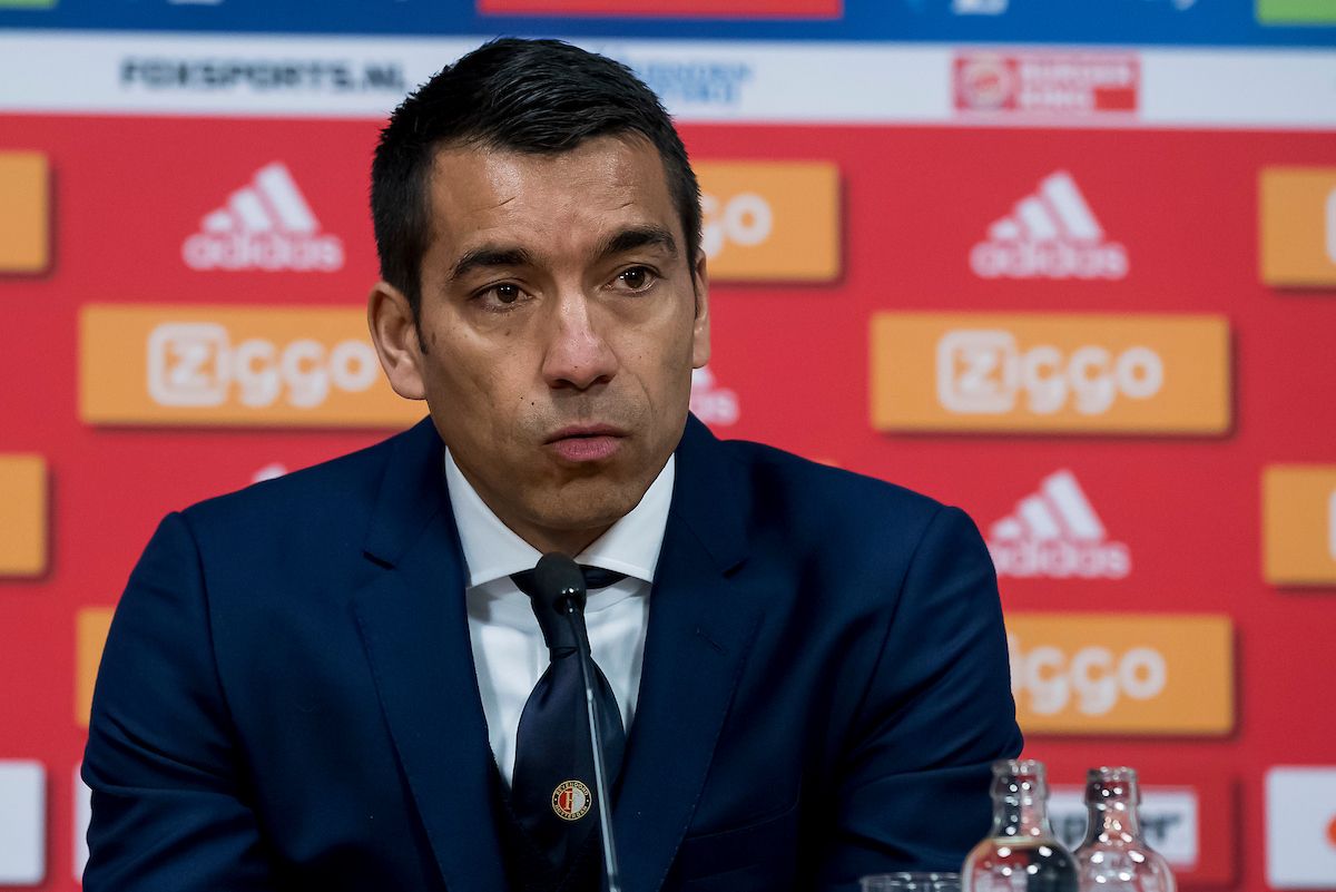 Giovanni van Bronckhorst, coach of Feyenoord after the Dutch Eredivisie match at Amsterdam Arena, Amsterdam Picture by Joep Joseph Leenen/Focus Images Ltd +316 5261929 02/04/2017 ***NETHERLANDS OUT***