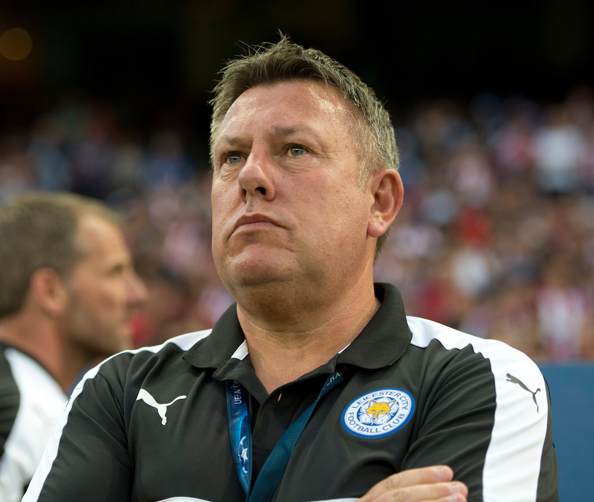 Leicester City manager Craig Shakespeare before the UEFA Champions League match at Vicente Calderon Stadium, Madrid Picture by Russell Hart/Focus Images Ltd 07791 688 420 12/04/2017
