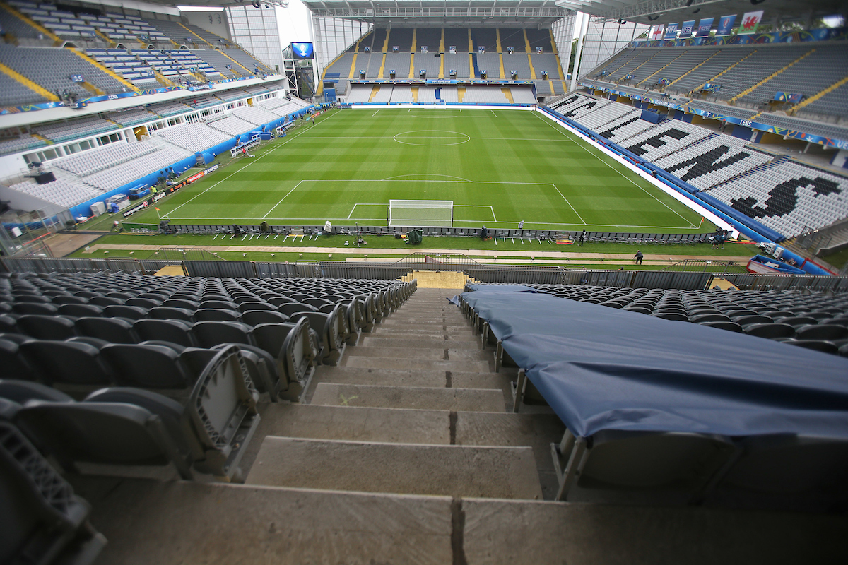 General views of the stadium before the UEFA Euro 2016 match at Stade Bollaert-Delelis , Lens Picture by Paul Chesterton/Focus Images Ltd +44 7904 640267 16/06/2016