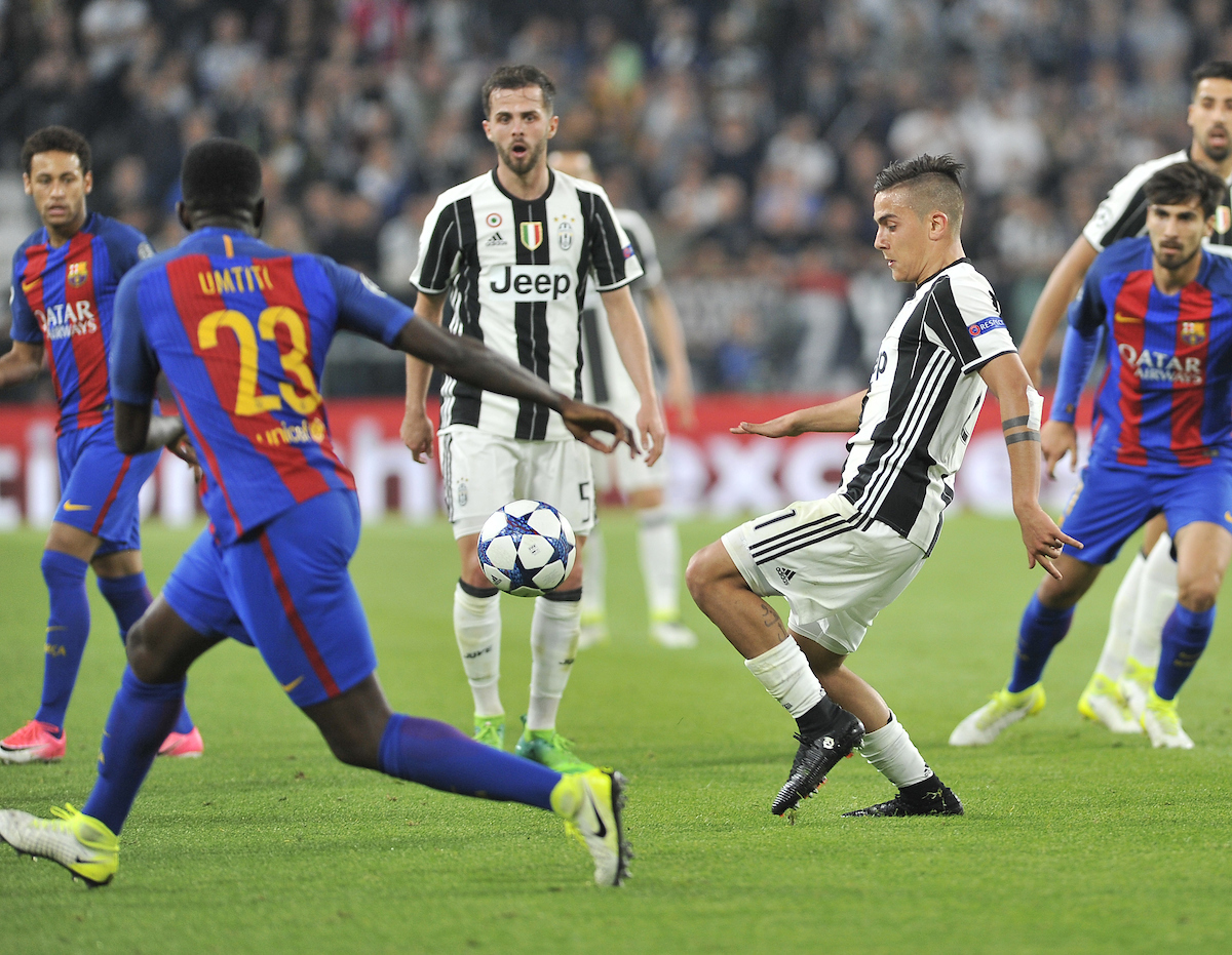 Paulo Dybala of Juventus during the UEFA Champions League match at Juventus Stadium, Turin Picture by Stefano Gnech/Focus Images Ltd +39 333 1641678 11/04/2017