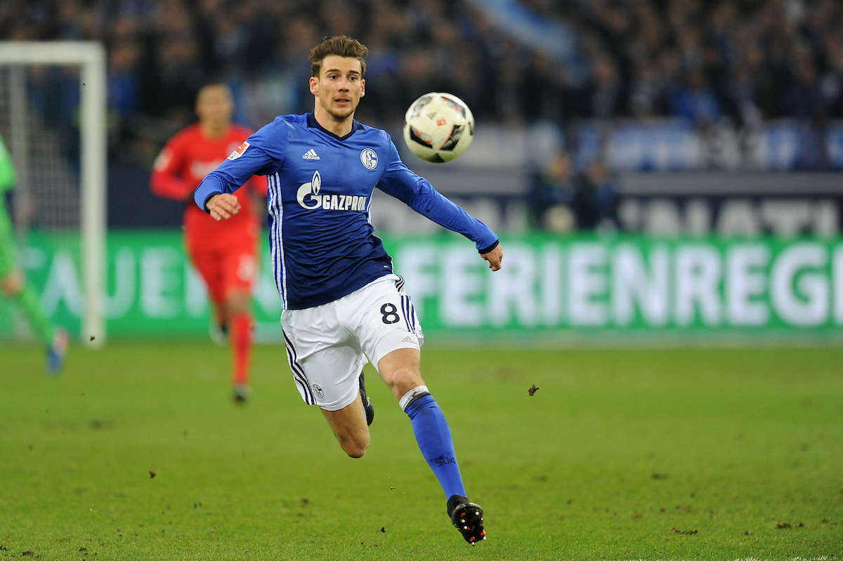 Leon Goretzka of FC Schalke 04 during the Bundesliga match at Veltins-Arena, Gelsenkirchen Picture by EXPA Pictures/Focus Images Ltd 07814482222 27/01/2017 *** UK & IRELAND ONLY *** EXPA-EIB-170128-1015.jpg
