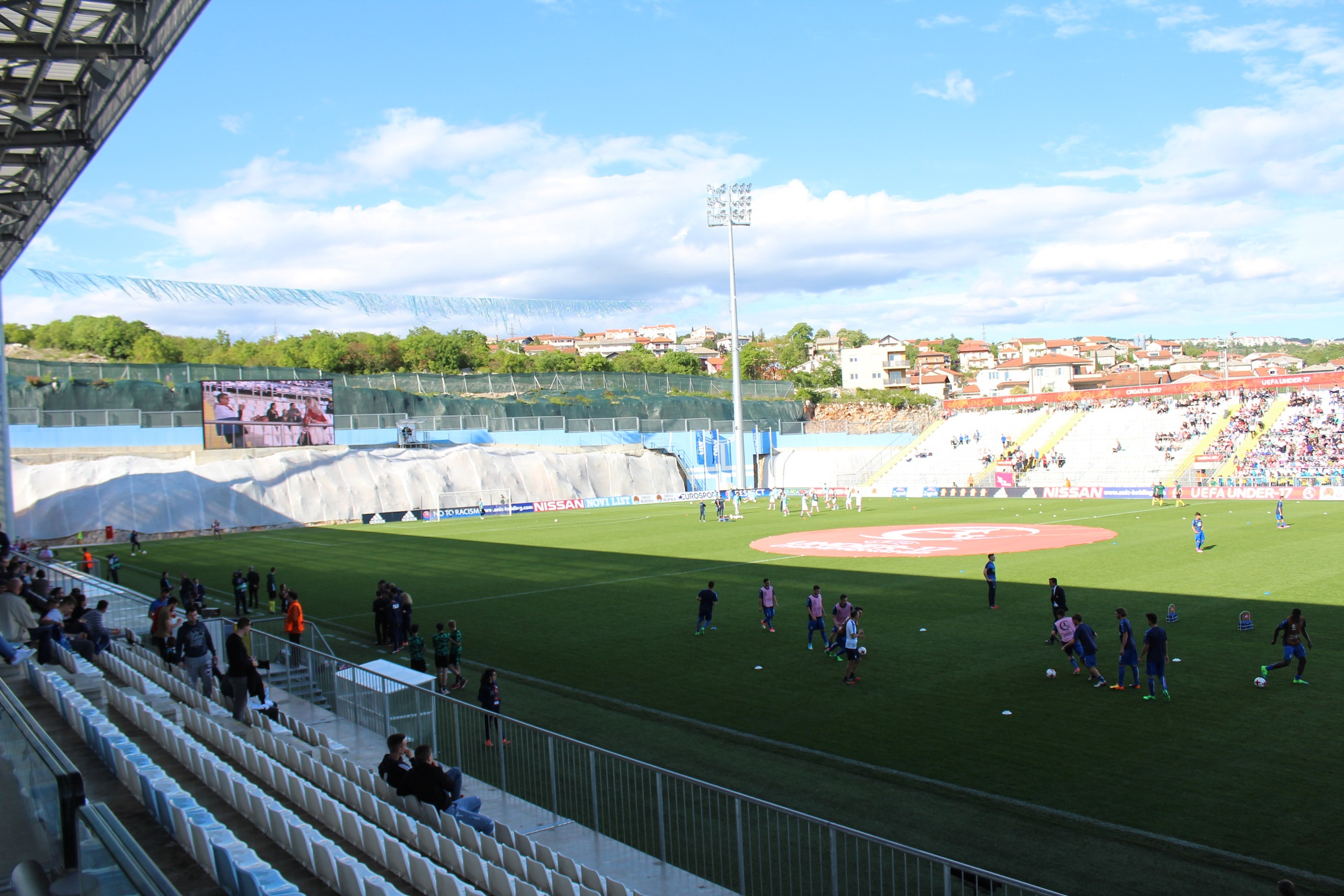 Estadio Rujevica.