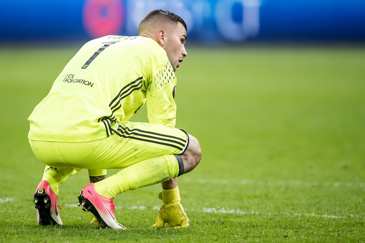 Anthony Lopes hizo una parada brutal. Foto: Focus Images Ltd