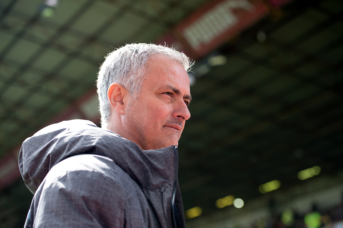 Manchester United manager Jose Mourinho before at the stadium before the Premier League match at Turf Moor, Burnley Picture by Russell Hart/Focus Images Ltd 07791 688 420 23/04/2017