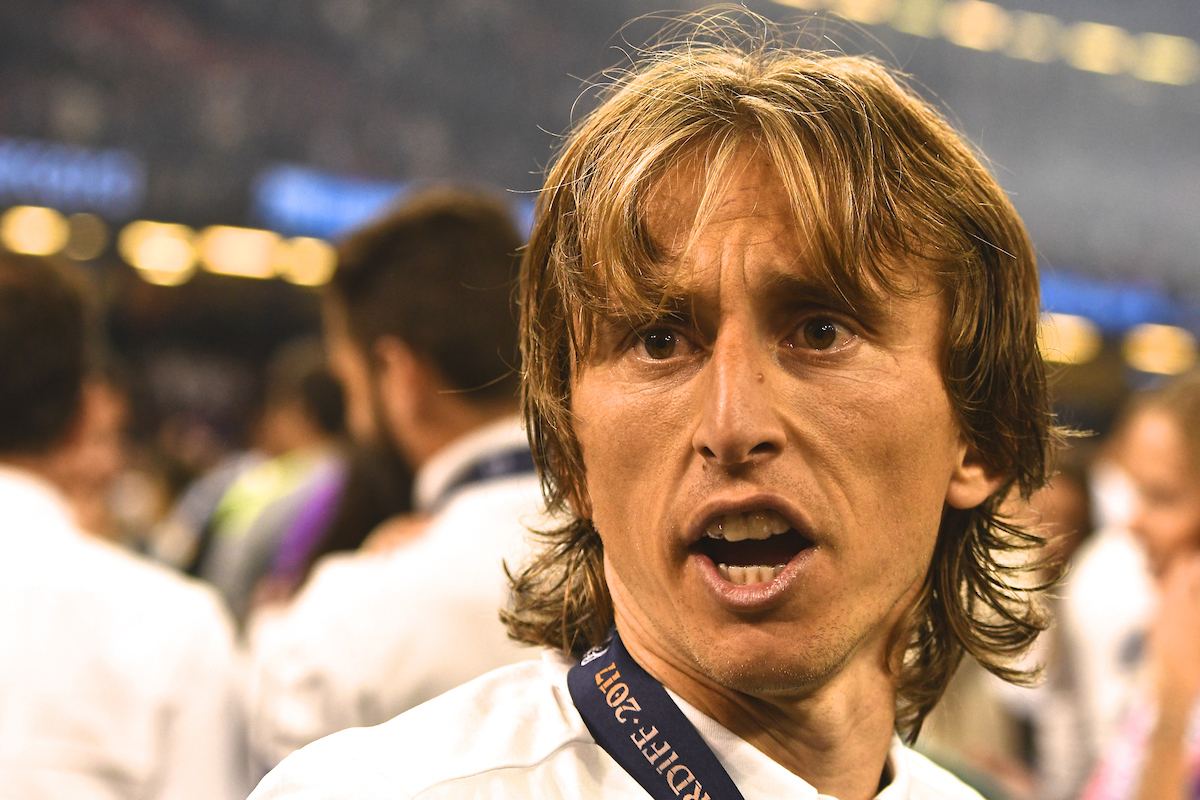 Luka Modric of Real Madrid following the UEFA Champions League Final at the Principality Stadium, Cardiff Picture by Kristian Kane/Focus Images Ltd +44 7814 482222 03/06/2017