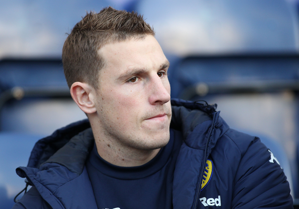 Chris Wood of Leeds United prior to the Sky Bet Championship match against Preston North End at Deepdale, Preston. Picture by Michael Sedgwick/Focus Images Ltd +44 7900 363072 26/12/2016