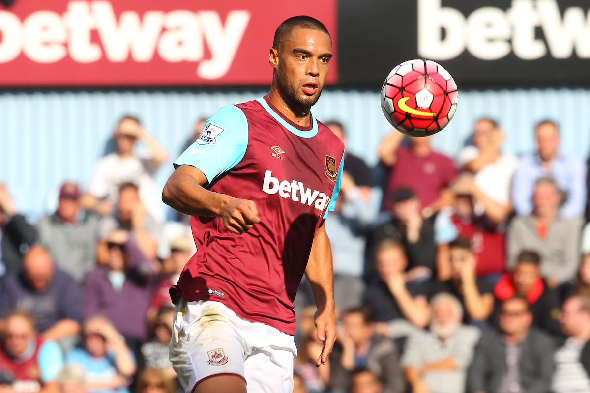 Winston Reid of West Ham in action during the Barclays Premier League match at the Boleyn Ground, London Picture by Paul Chesterton/Focus Images Ltd +44 7904 640267 26/09/2015